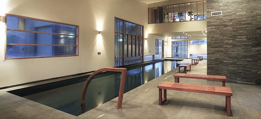 Onsen Pool for  Bathin, Spa and Massage Treatments